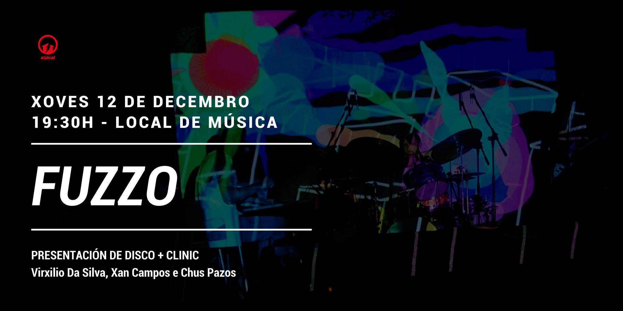 """Fuzzo"" presentan disco e fan un ""clinic"" no Local de Música de Pontevedra"