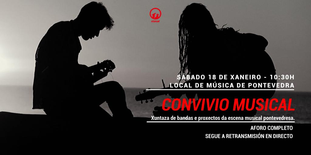 CONVIVIO DO LOCAL DE MÚSICA
