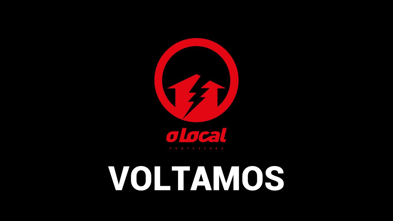 VOLTAMOS: Reapertura das instalación físicas